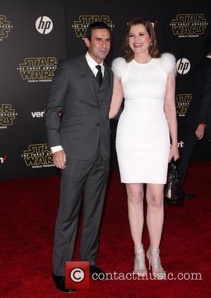 Geena Davis , Reza Jarrahy - Premiere Of Walt Disney Pictures And Lucasfilm's