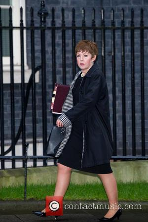 Baroness Stowell of Beeston MBE, Lord Privy Seal , Leader of the House of Lords - Cabinet Members arrive and...