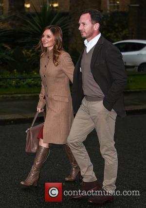 Geri Halliwell, Geri Horner , Christian Horner - Geri Halliwell and her husband Christian Horner arrive at 11 Downing Street...