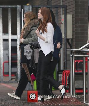 Rose Leslie - Rose Leslie outside ITV Studios - London, United Kingdom - Tuesday 15th December 2015