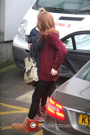 Catherine Tate - Catherine Tate outside ITV Studios - London, United Kingdom - Tuesday 15th December 2015
