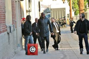 Seal - Seal comes to Hollywood for an appearance and concert on Jimmy Kimmel Live! at Jimmy Kimmel studio -...