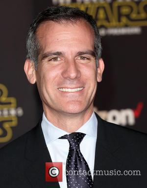 Eric Garcetti - Celebrities attend Premiere Of Walt Disney Pictures And Lucasfilm's