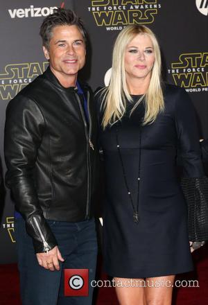 Rob Lowe , Sheryl Berkoff - Celebrities attend Premiere Of Walt Disney Pictures And Lucasfilm's
