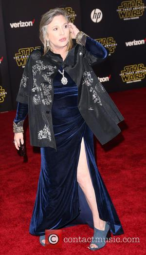 Carrie Fisher - Celebrities attend Premiere Of Walt Disney Pictures And Lucasfilm's