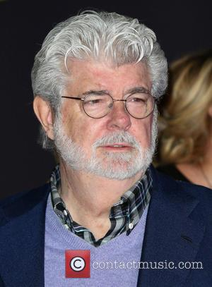 George Lucas - Celebrities attend Premiere Of Walt Disney Pictures And Lucasfilm's