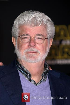 George Lucas - Premiere Of Walt Disney Pictures And Lucasfilm's