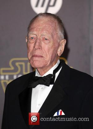 Max von Sydow - Premiere Of Walt Disney Pictures And Lucasfilm's