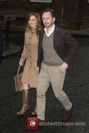 Geri Halliwell , Christian Horner - Starlight's Christmas party held at 11 Downing Street. - London, United Kingdom - Tuesday...