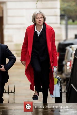 Theresa May - Home Secretary Theresa May out and about in Downing Street. - London, United Kingdom - Tuesday 15th...