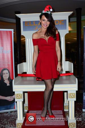 LIZZIE CUNDY - Ella Jade Chair Your Wish launch at Whiteley's Shopping Centre - London, United Kingdom - Tuesday 15th...