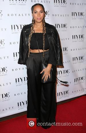 Leona Lewis - Chris Brown host his 'Royalty' album listening party - Arrivals at Hyde Sunset Kitchen + Cocktails -...