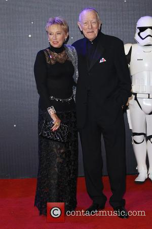 Max von Sydow - Star Wars: The Force Awakens - UK film premiere - London, United Kingdom - Wednesday 16th...