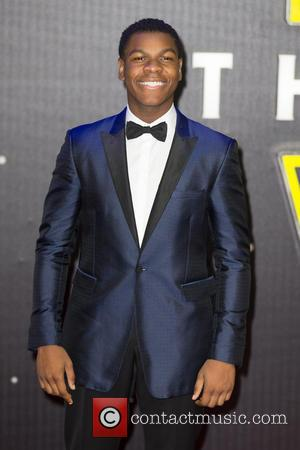 John Boyega - The European Premiere of 'Star Wars: The Force Awakens'  held at the Odeon and Vue, Leicester...
