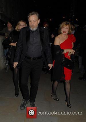 Mark Hamill , Marilou York - Star Wars: The Force Awakens cast members leaving The Corinthia Hotel London - London,...