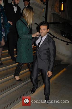 Oscar Isaac - Star Wars: The Force Awakens cast members leaving The Corinthia Hotel London - London, United Kingdom -...