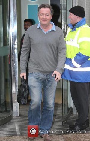 Piers Morgan - Piers Morgan outside ITV Studios - London, United Kingdom - Wednesday 16th December 2015