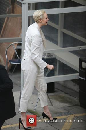 Gwendoline Christie - Gwendoline Christie outside ITV Studios - London, United Kingdom - Wednesday 16th December 2015