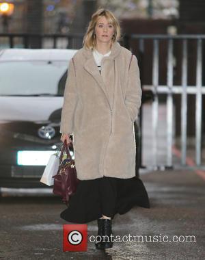 Edith Bowman - Edith Bowman outside ITV Studios - London, United Kingdom - Wednesday 16th December 2015