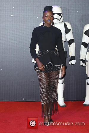 Lupita Nyong'o - Star Wars: The Force Awakens - UK film premiere - London, United Kingdom - Wednesday 16th December...