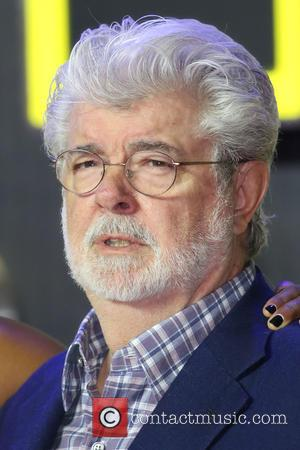 George Lucas - Star Wars: The Force Awakens - UK film premiere - London, United Kingdom - Wednesday 16th December...