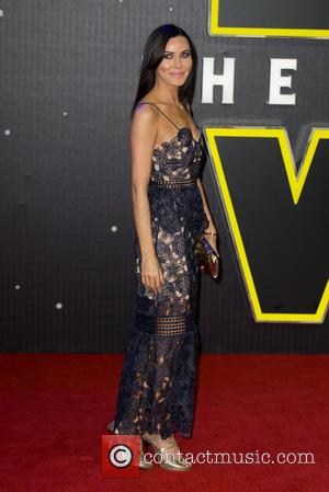 Linzi Stoppard - The European Premiere of 'Star Wars: The Force Awakens'  held at the Odeon and Vue, Leicester...