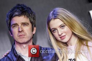 Noel Gallagher and Anaïs Gallagher