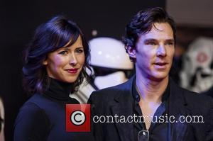 Benedict Cumberbatch , Sophie Hunter - Star Wars: The Force Awakens - European film premiere - London, United Kingdom -...