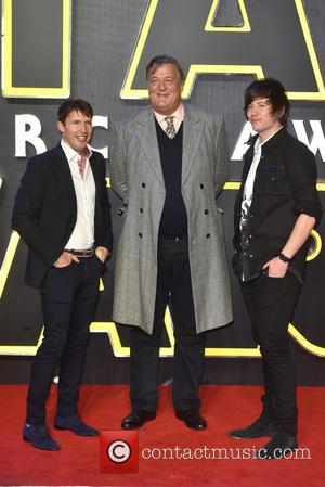James Blunt, Stephen Fry and Elliott Spencer