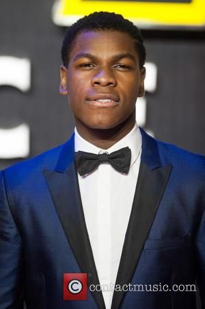 John Boyega - Star Wars: The Force Awakens - European film premiere held at the Odeon Leicester Square. at Odeon...