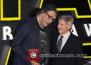 Harrison Ford and Peter Mayhew