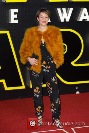 Christiane Amanpour - The European Premiere of 'Star Wars: The Force Awakens'  held at the Odeon and Vue, Leicester...