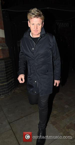 Gordon Ramsay - Celebrities leaving the Chiltern Firehouse - London, United Kingdom - Thursday 17th December 2015