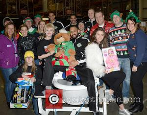 Manchester Giants, Amy Kelly, Katie Mcglynn, Brooke Vincent, Sale Sharks and Volunteers
