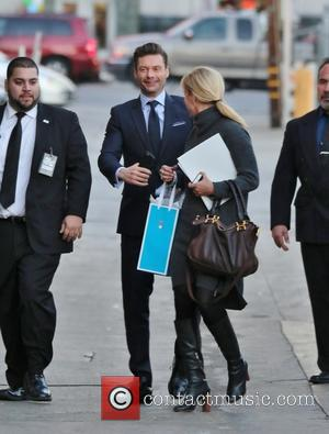 Ryan Seacrest - Ryan Seacrest comes to Hollywood for an appearance on Jimmy Kimmel Live! at Jimmy Kimmel studio -...
