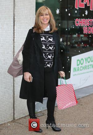 Kate Garraway - Kate Garraway outside ITV Studios - London, United Kingdom - Thursday 17th December 2015