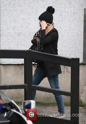 Caroline Flack - Caroline Flack outside ITV Studios - London, United Kingdom - Friday 18th December 2015
