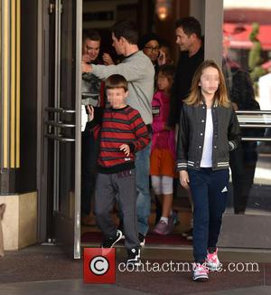 Mark Wahlberg, Michael Wahlberg and Ella Rae Wahlberg