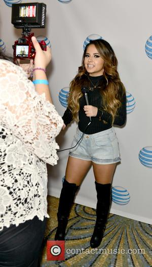 Becky G - AT&T Latino's A Night With with Becky G at Versace Mansion at Versace Mansion - Miami Beach,...