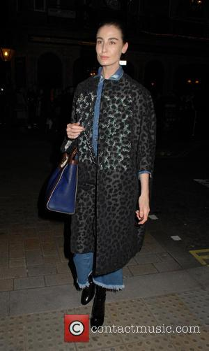 Erin O'Connor - LOVE Magazine - Christmas party at George Club - London, United Kingdom - Friday 18th December 2015