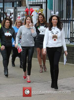 Andrea McLean - Andrea McLean outside ITV Studios - London, United Kingdom - Friday 18th December 2015