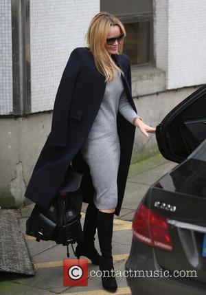 Amanda Holden - Amanda Holden outside ITV Studios - London, United Kingdom - Friday 18th December 2015