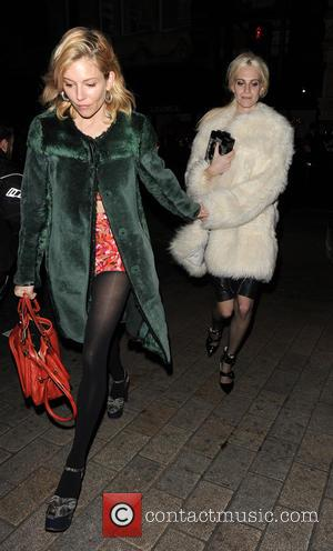 Sienna Miller and Poppy Delevingne