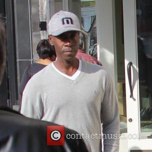 Don Cheadle - Don Cheadle and his longterm partner Bridgid Coulter spotted out and about in Beverly Hills at beverly...