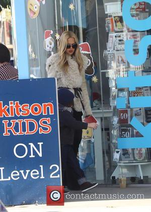 Rachel Zoe , Skyler Berman - Rachel Zoe, Rodger Berman, and their sons Skyler and Kaius Berman go shopping at...