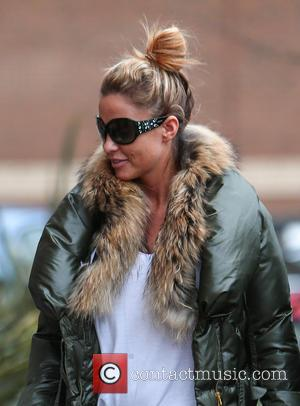 Katie Price - Katie Price arrives for her panto matinee with her son at the New Victoria Theatre in Woking...