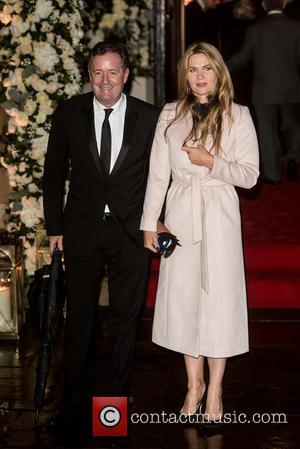 Piers Morgan and Celia Walden