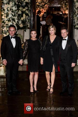 Anthony McPartlin, Declan Donnelly , Guest - Wedding of Christine Bleakley and Frank Lampard at St. Paul's Knighstbridge. - London,...