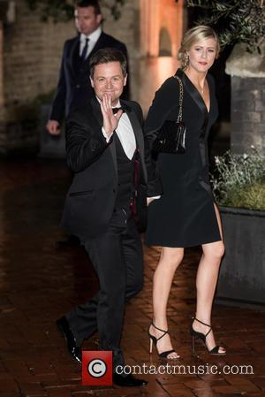 Declan Donnelly , Ali Astall - Wedding of Christine Bleakley and Frank Lampard at St. Paul's Knighstbridge. - London, United...