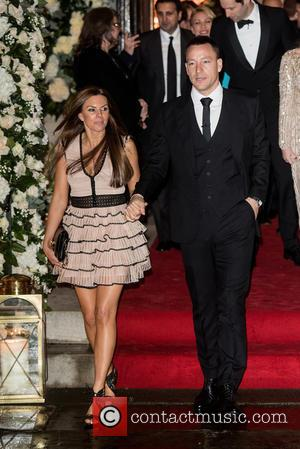 John Terry , Toni Terry - Wedding of Christine Bleakley and Frank Lampard at St. Paul's Knighstbridge. - London, United...